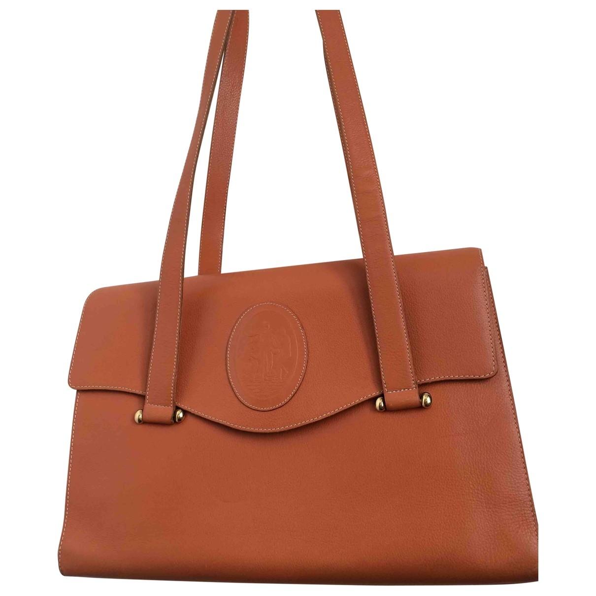 Nina Ricci \N Handtasche in  Orange Leder