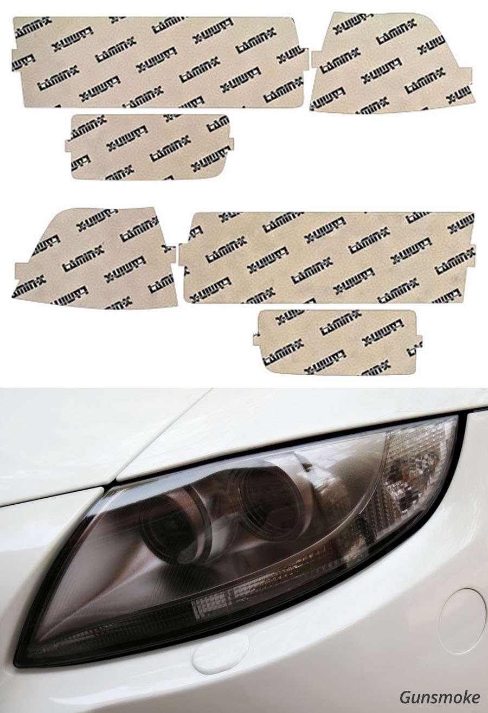 BMW 3-Series Sedan 92-99 US Gunsmoke Headlight Covers Lamin-X B201U-3G