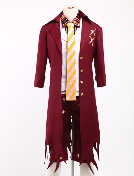 Milanoo Ao no Exorcist Amaimon Halloween Cosplay Costume Halloween