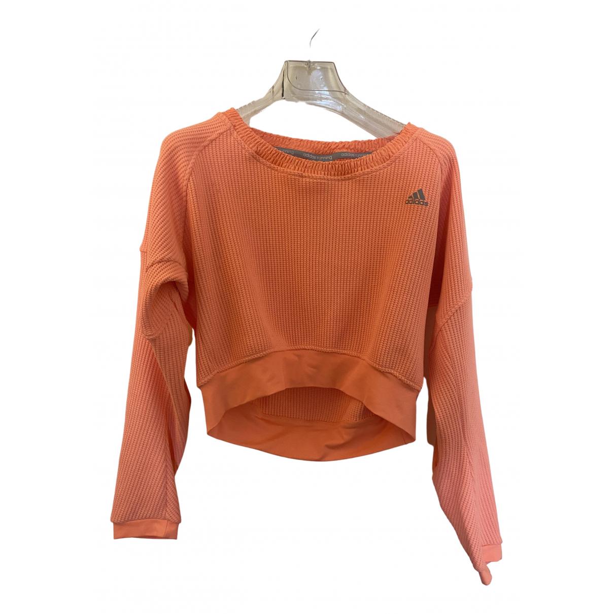 Adidas - Pull   pour femme - orange