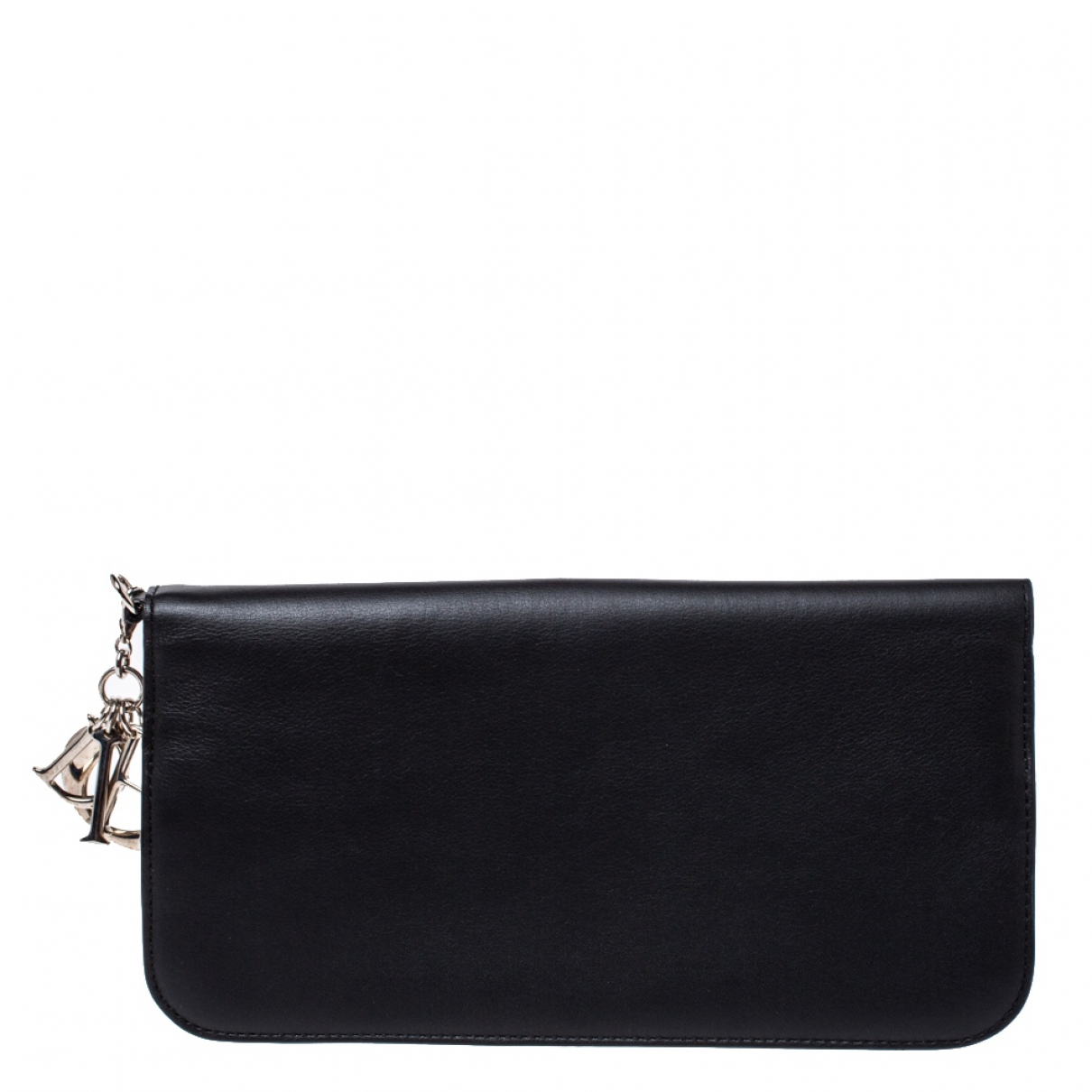 Dior Diorissimo Black Leather wallet for Women N