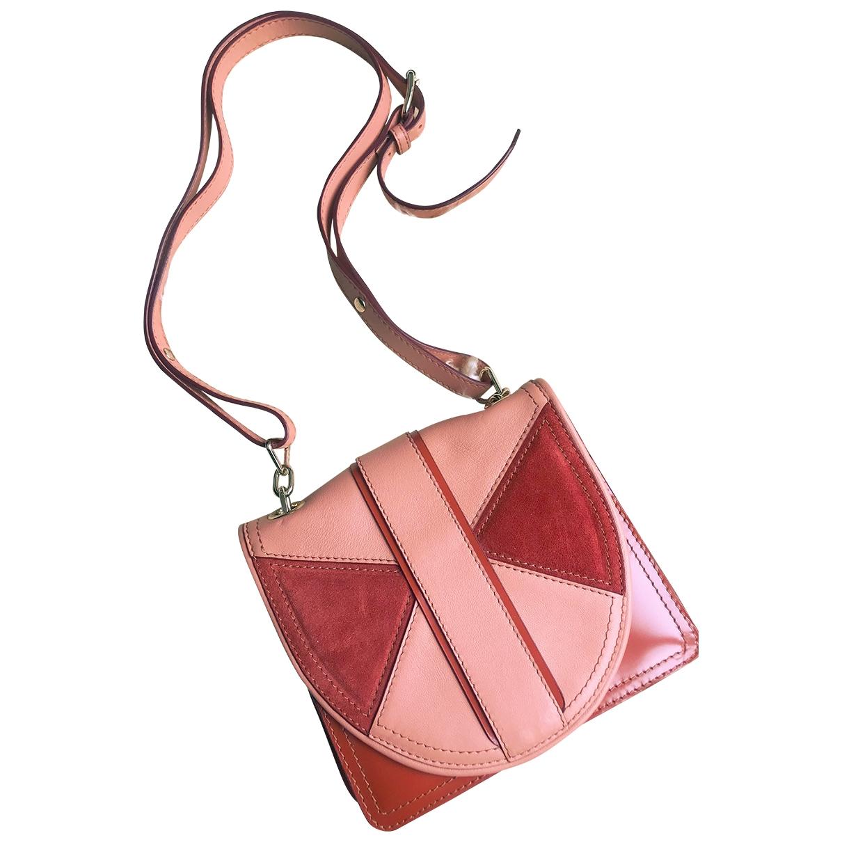 Max Mara Max Mara Atelier Brown Leather handbag for Women \N