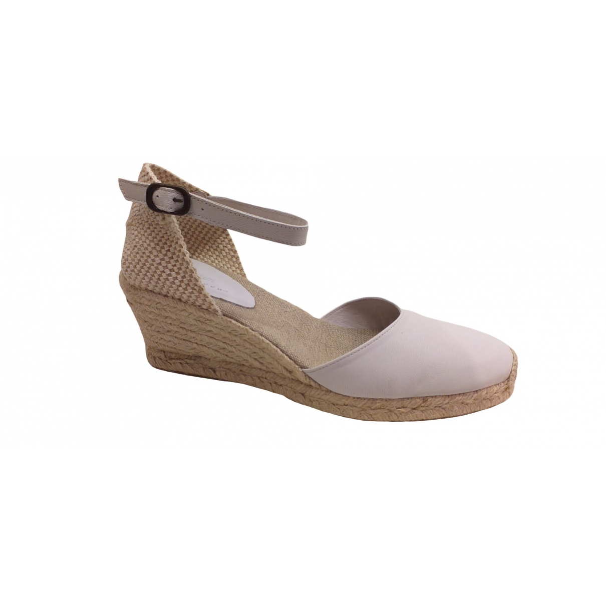 Non Signe / Unsigned \N Espadrilles in  Weiss Leder