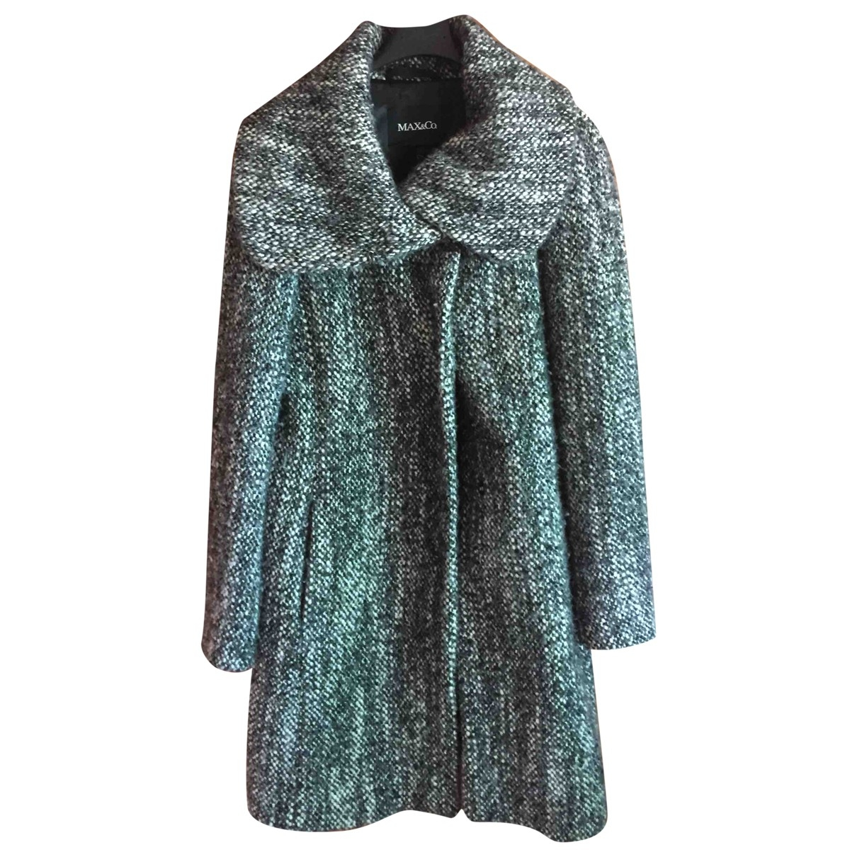 Max & Co - Manteau   pour femme en laine - gris