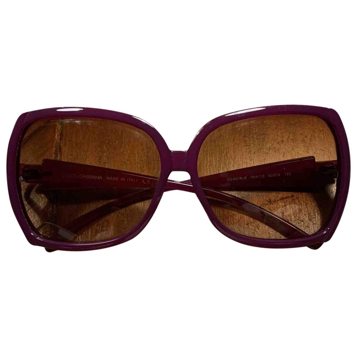 Dolce & Gabbana - Lunettes   pour femme - violet