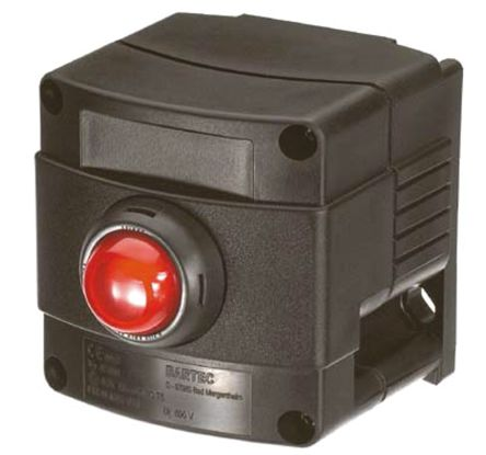 Bartec Push Button Control Station, IP66, IP67