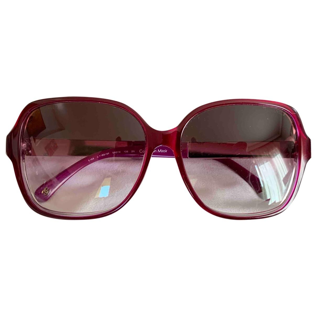 Chanel - Lunettes   pour femme - violet
