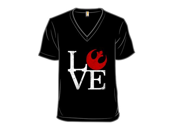 Rebellious Love T Shirt