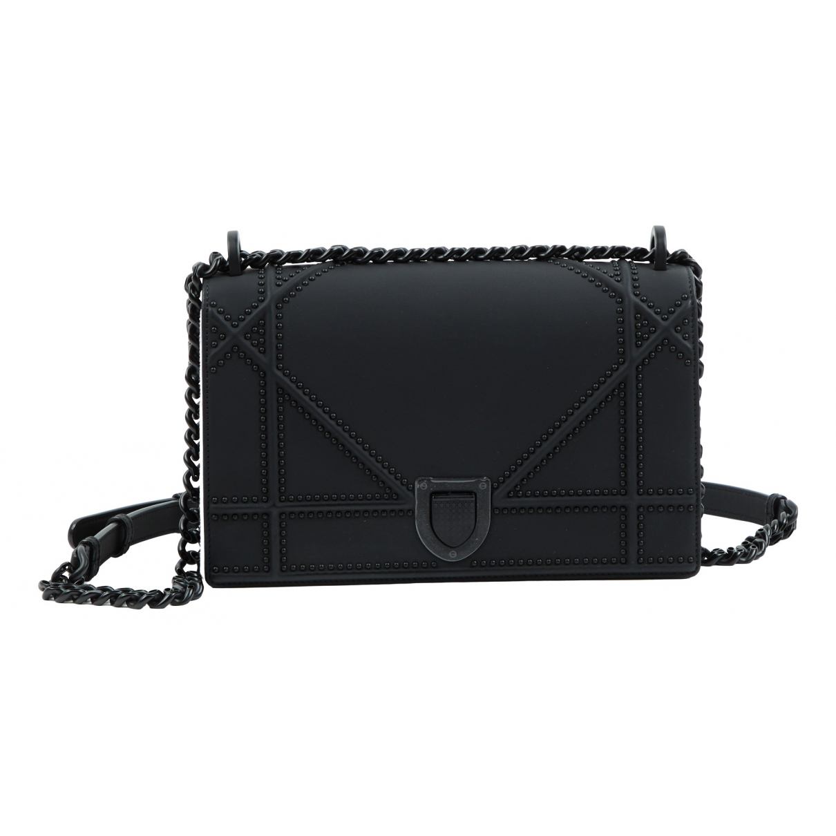 Dior Diorama Black Leather handbag for Women \N