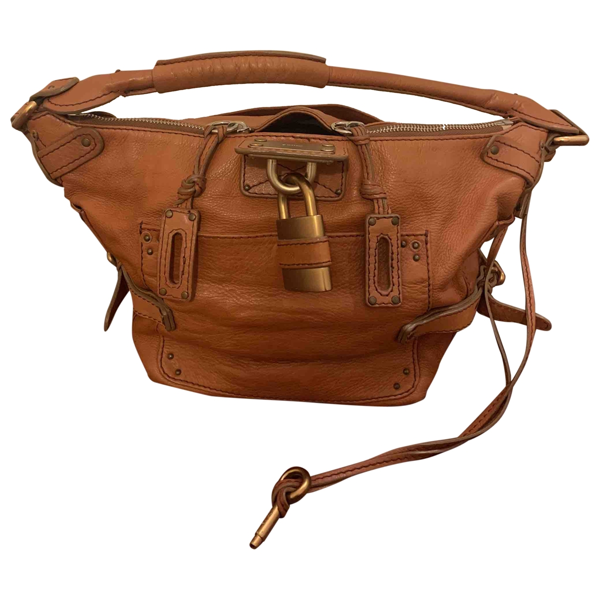 Chloé Paddington Camel Leather handbag for Women \N