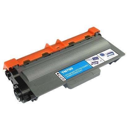 Compatible Brother TN750 Black Toner Cartridge - Economical Box