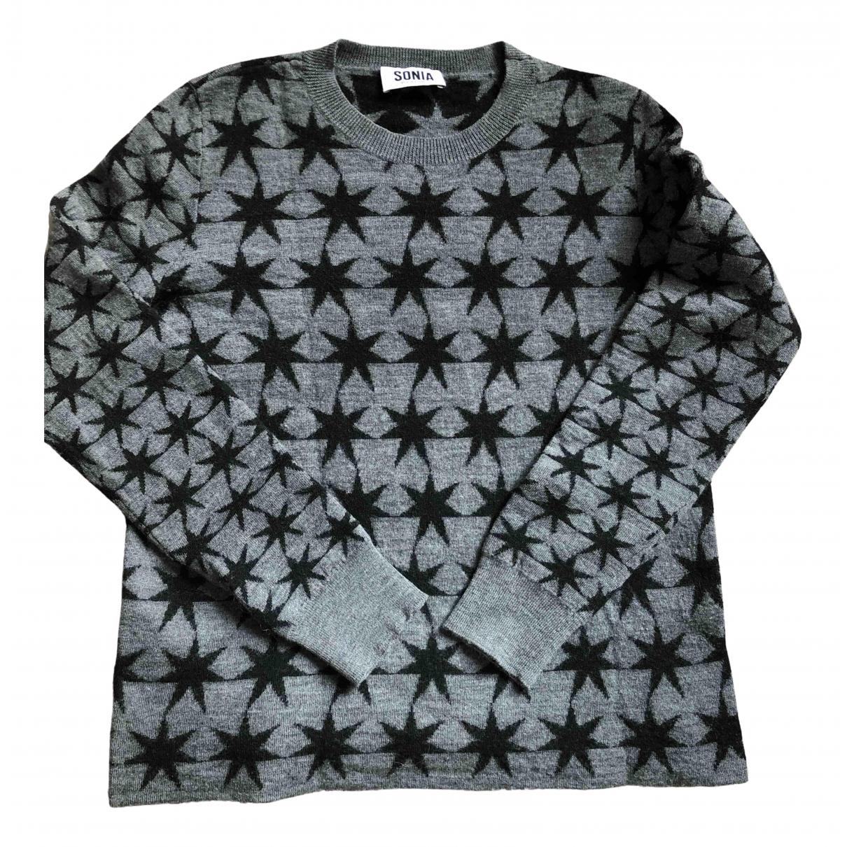 Sonia By Sonia Rykiel N Grey Wool Knitwear for Women S International