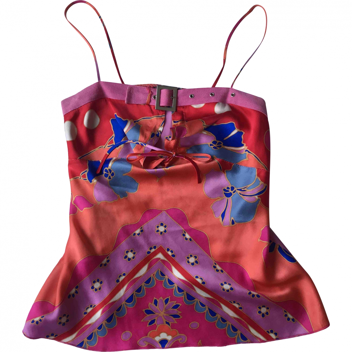 Sandro \N Multicolour Silk  top for Women 42 IT