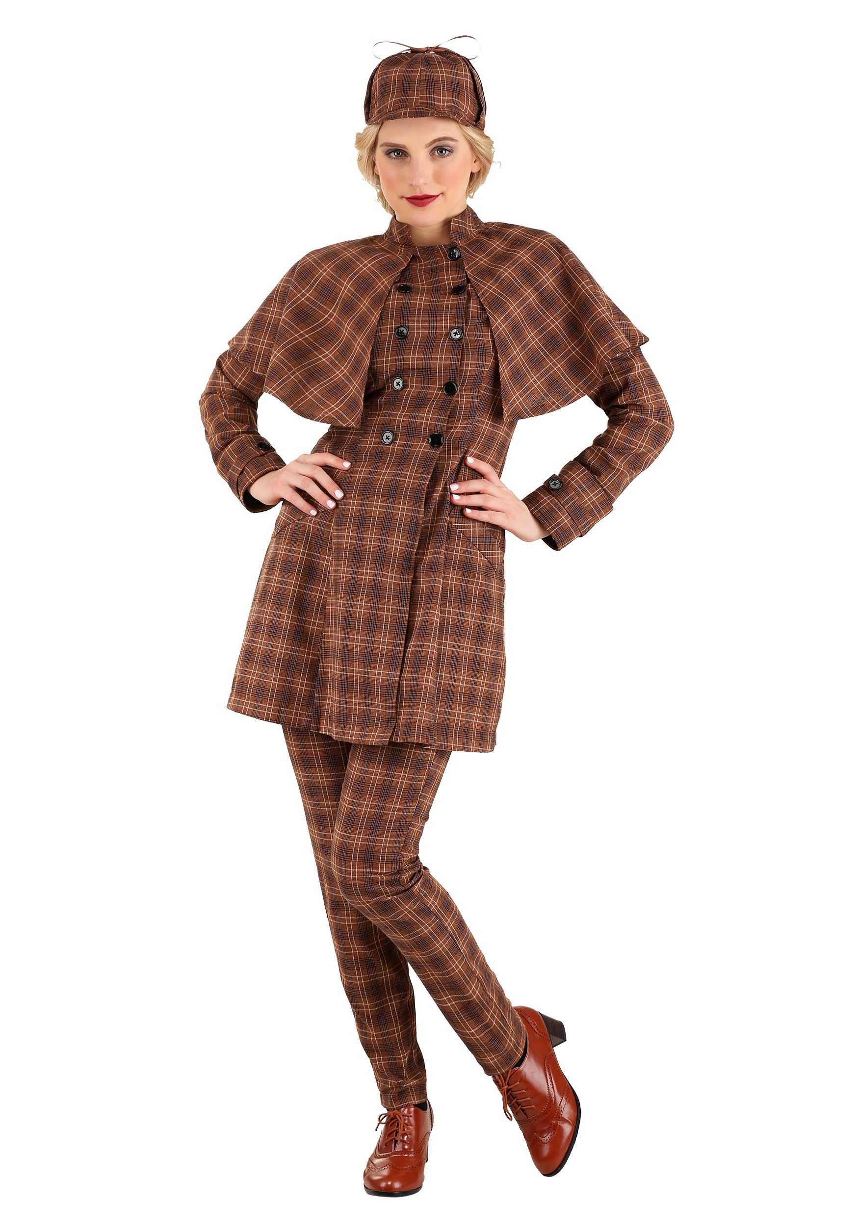 Sherlock Holmes Women's Costume
