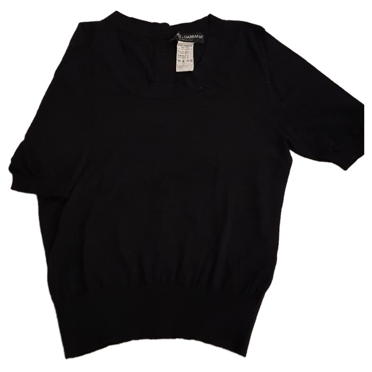 Dolce & Gabbana \N Black Cashmere Knitwear for Women 44 IT
