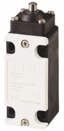 Eaton , Slow Action Limit Switch - Plastic, NO/NC, Plunger, 415V, IP65