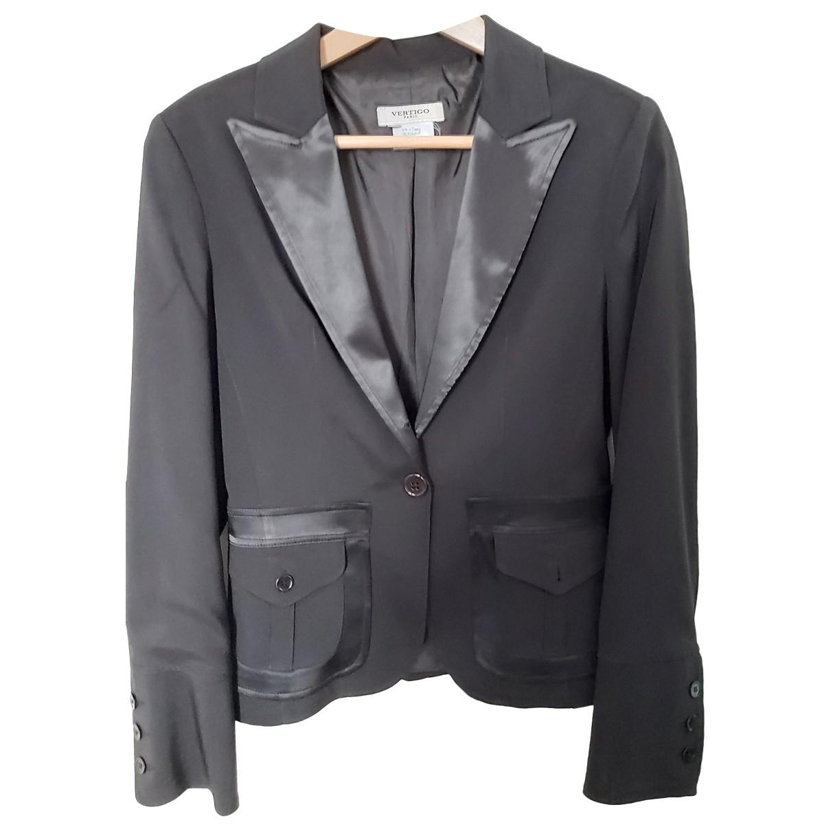 Non Signe / Unsigned \N Jacke in  Schwarz Polyester