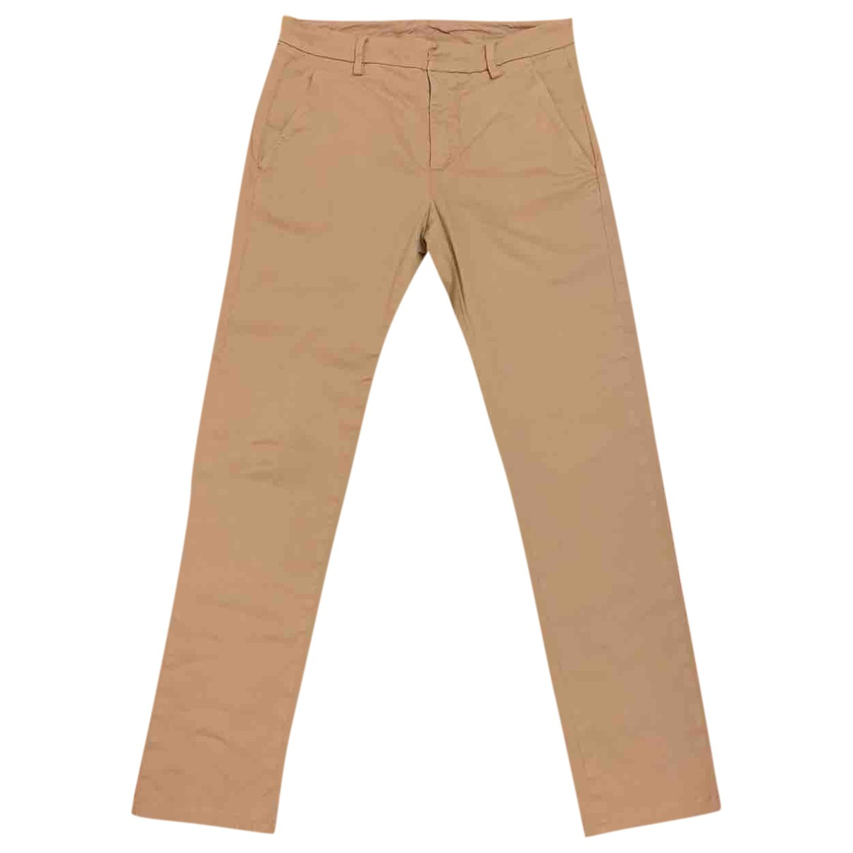 Dondup \N Beige Cotton Trousers for Men S International
