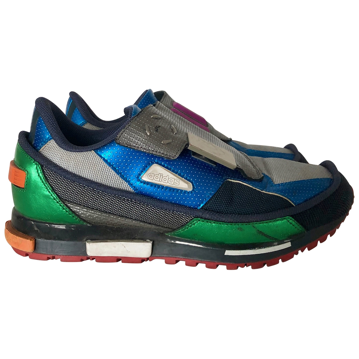 Adidas X Raf Simons \N Sneakers in  Silber Polyester