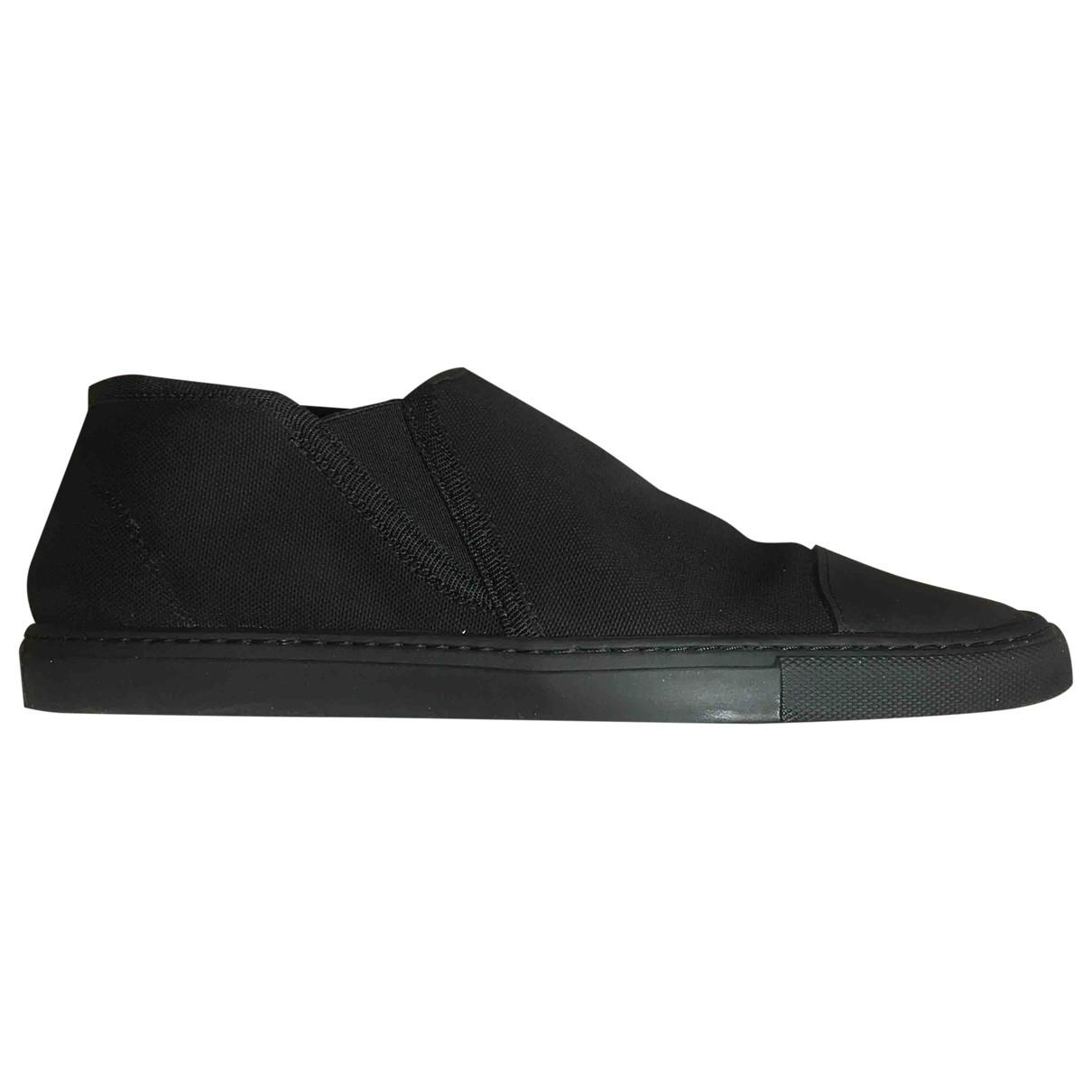 Lemaire - Baskets   pour homme en toile - noir