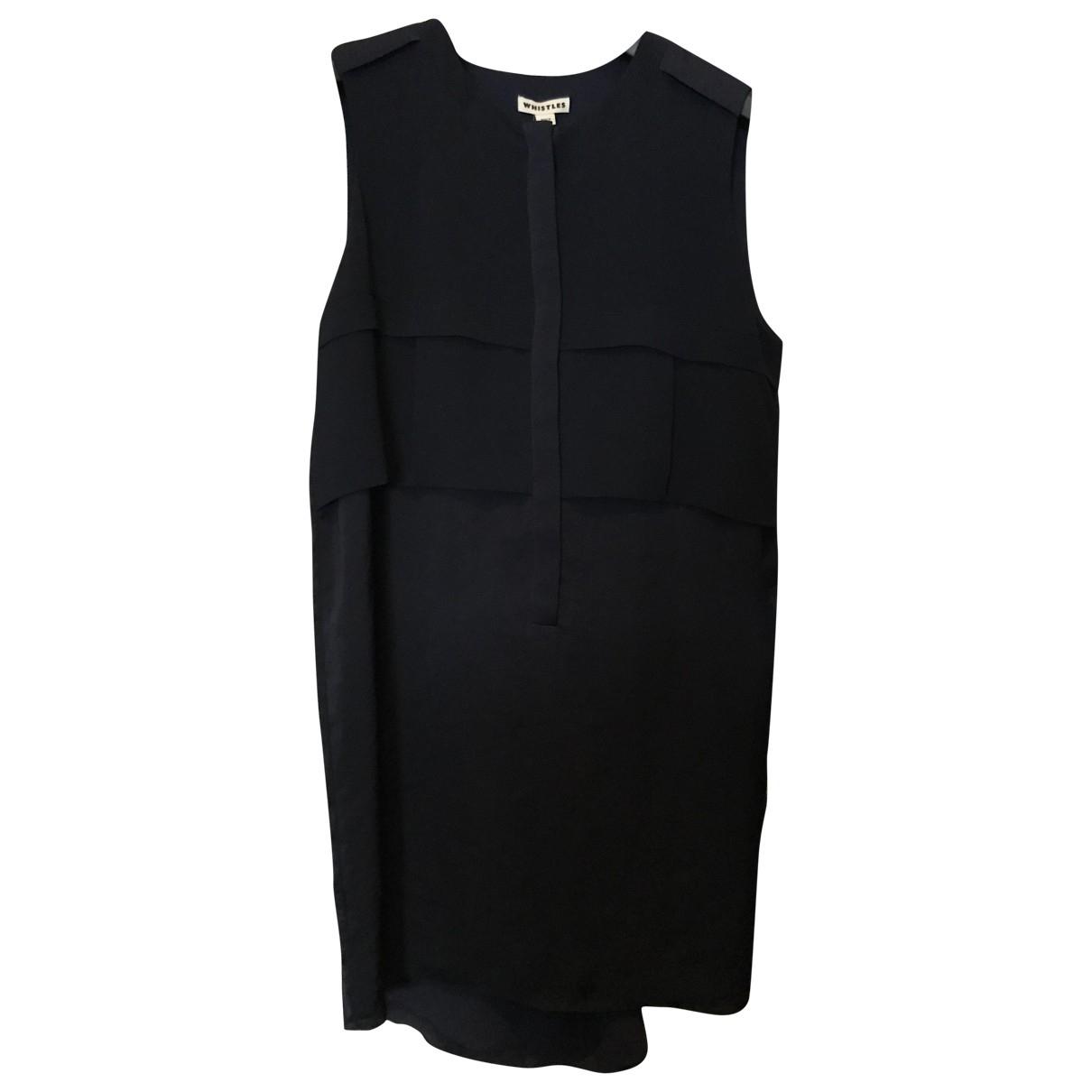Whistles \N Kleid in  Marine Polyester