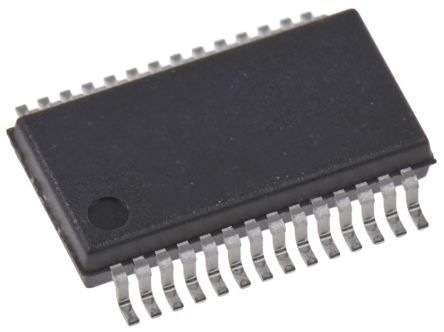 Cypress Semiconductor CY8C29466-24PVXIT, 32bit Microcontroller, CY8C29, 24MHz, 32 kB Flash, 28-Pin SSOP (1000)