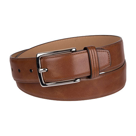 Dockers Casual Men's Belt with Single Stitch, M (34-36) , Brown