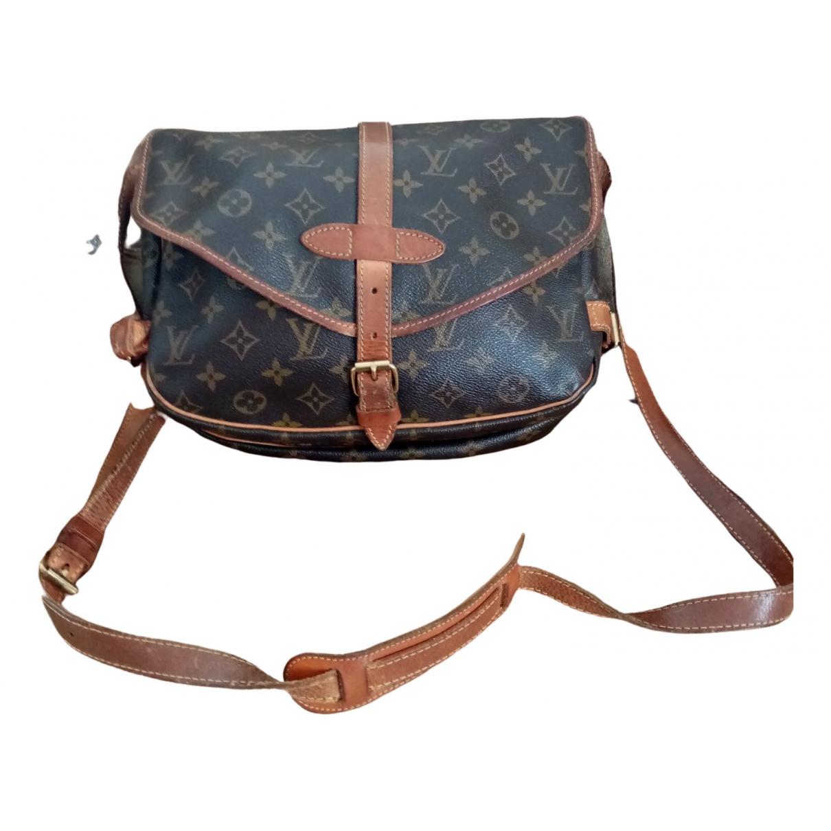 Louis Vuitton Saumur Multicolour Cloth handbag for Women \N