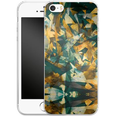 Apple iPhone 5 Silikon Handyhuelle - Raw Texture von Danny Ivan