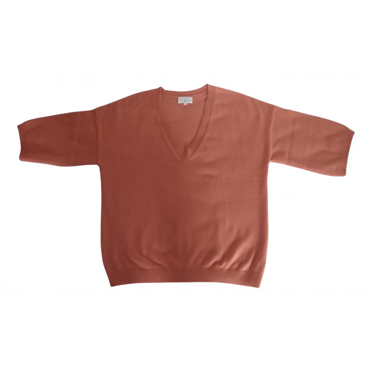 Eric Bompard - Pull   pour femme en cachemire - orange