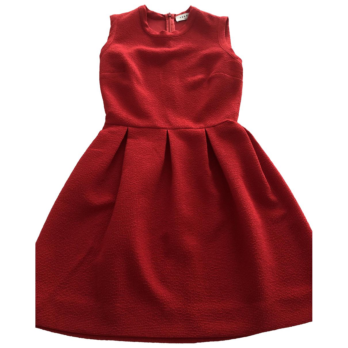 Sandro N Red dress for Women 40 IT