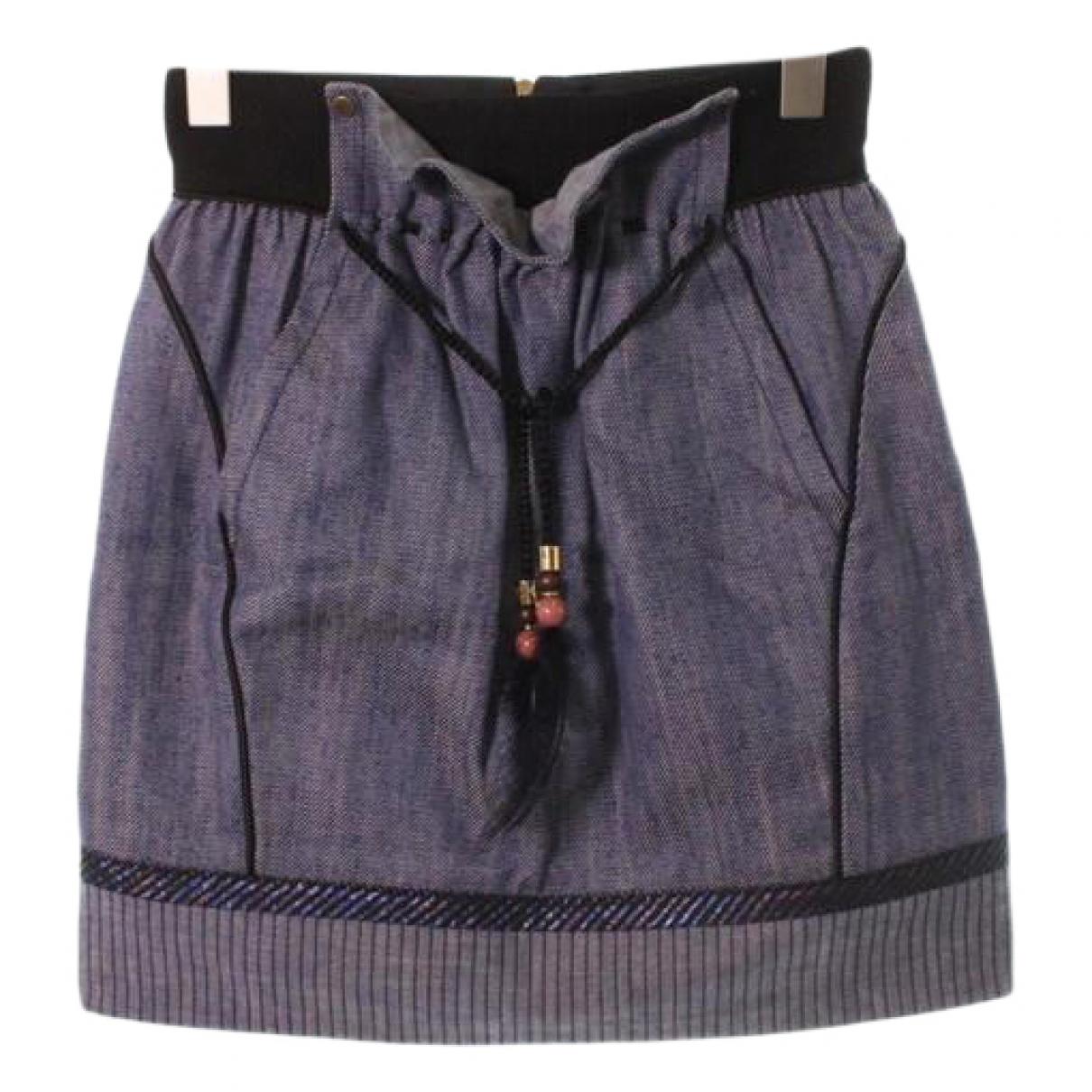 Falda midi Louis Vuitton