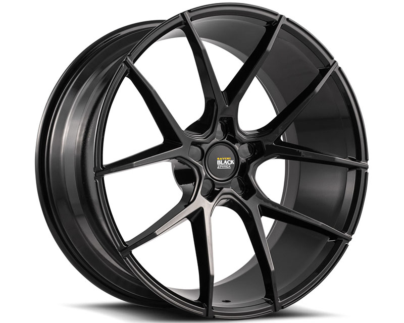 Savini BM14-22090527G3079 di Forza Gloss Black BM14 Wheel 22x9.0 5x127 30mm