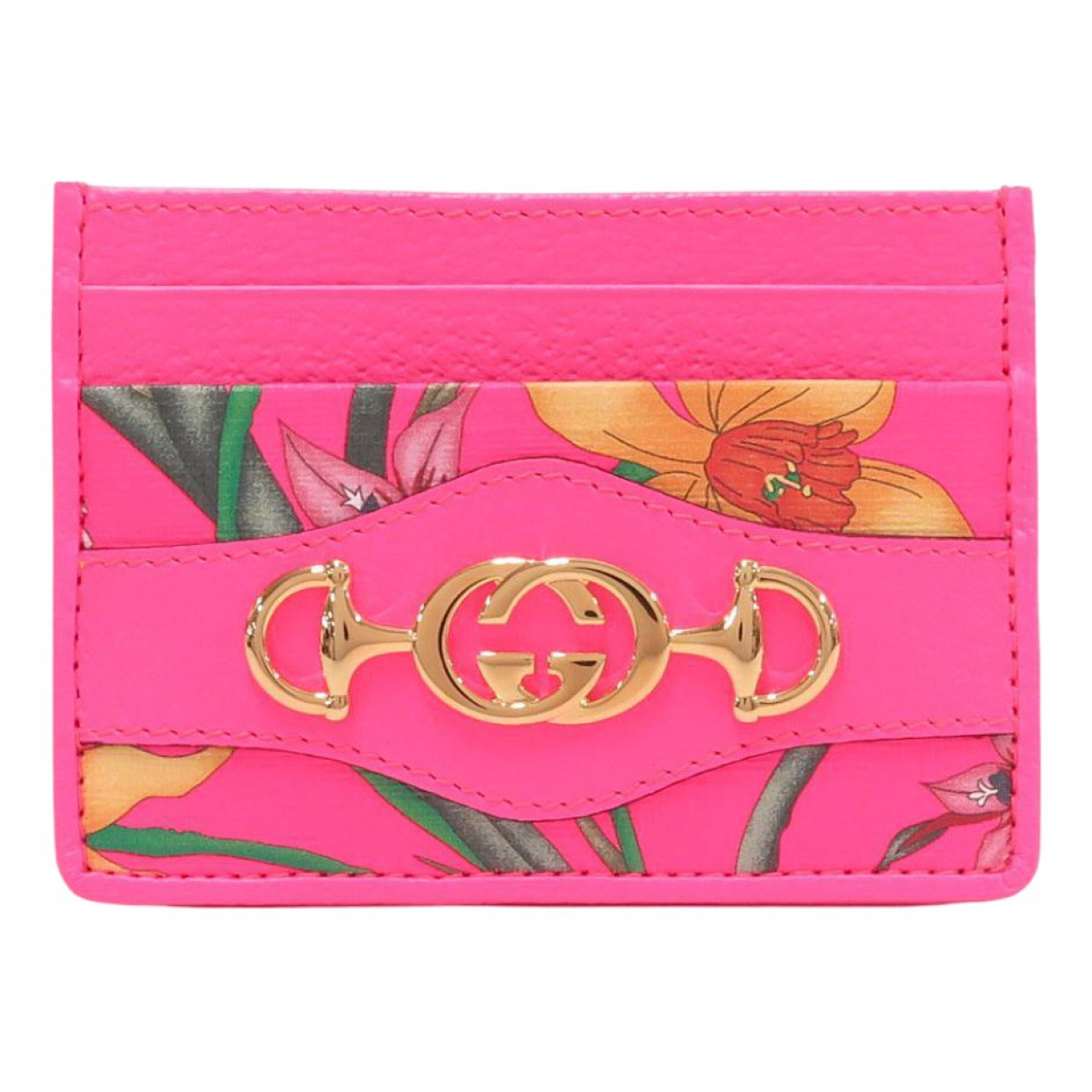 Gucci Zumi Pink Leather Purses, wallet & cases for Women N