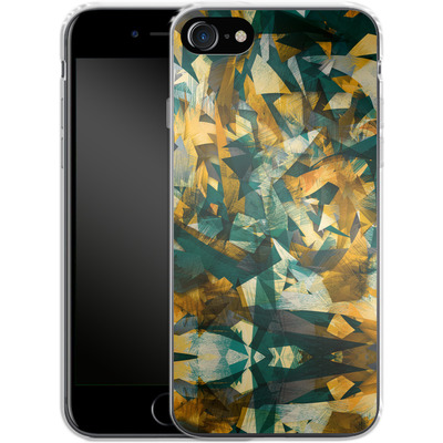 Apple iPhone 8 Silikon Handyhuelle - Raw Texture von Danny Ivan