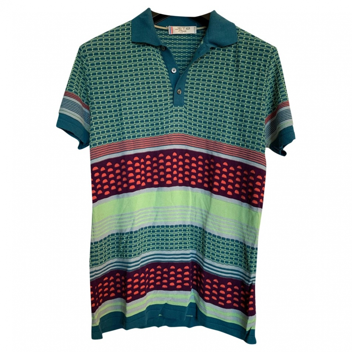 Polo en Viscosa Multicolor Non Signe / Unsigned