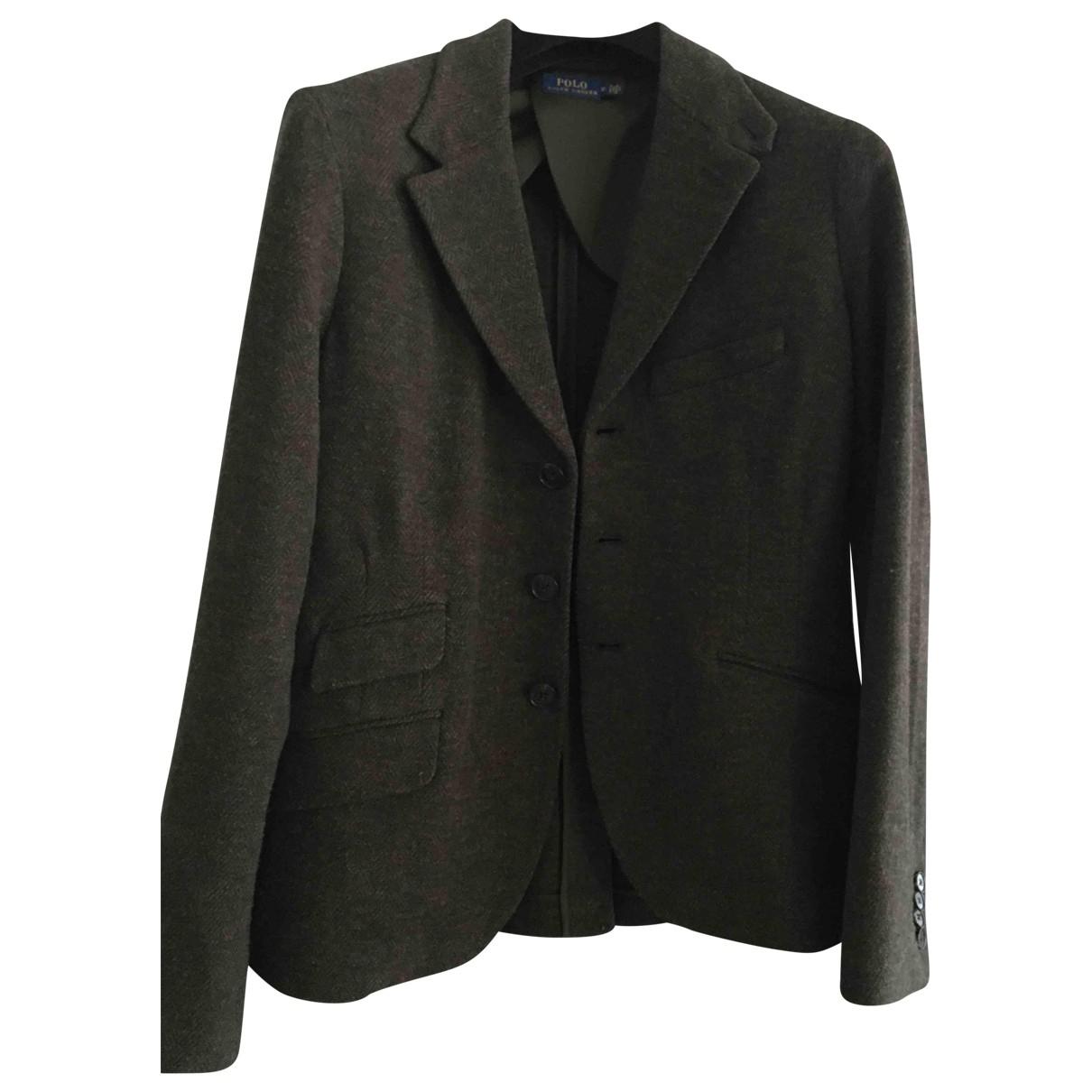 Polo Ralph Lauren \N Brown Wool jacket for Women 12 US