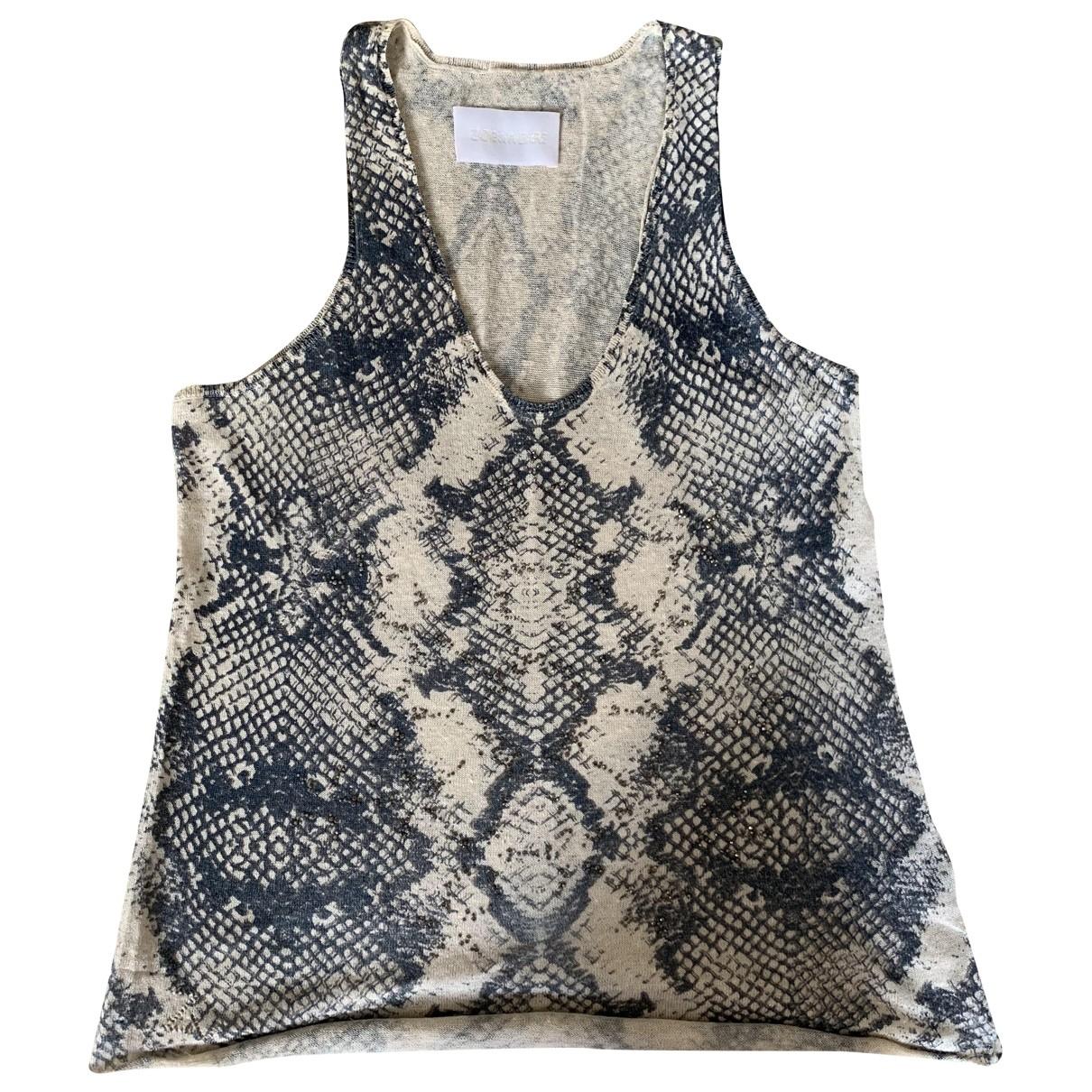 Zadig & Voltaire \N Beige Linen  top for Women XS International