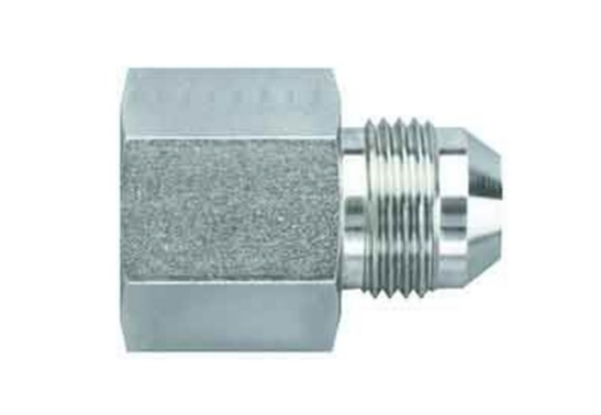 Aeroquip FCM2421 Universal #10 Steel To -08 Reducer Fitting
