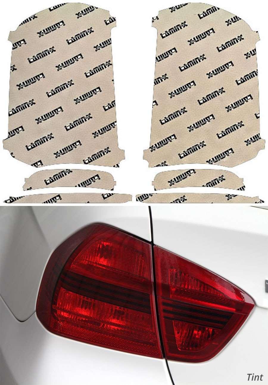 Chrysler 300 15-18 Tint Tail Light Covers Lamin-X C217T