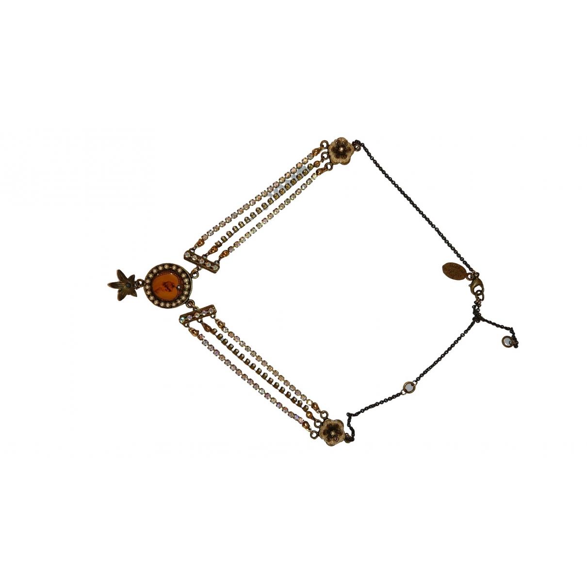 - Collier Motifs Etoiles pour femme en metal - multicolore