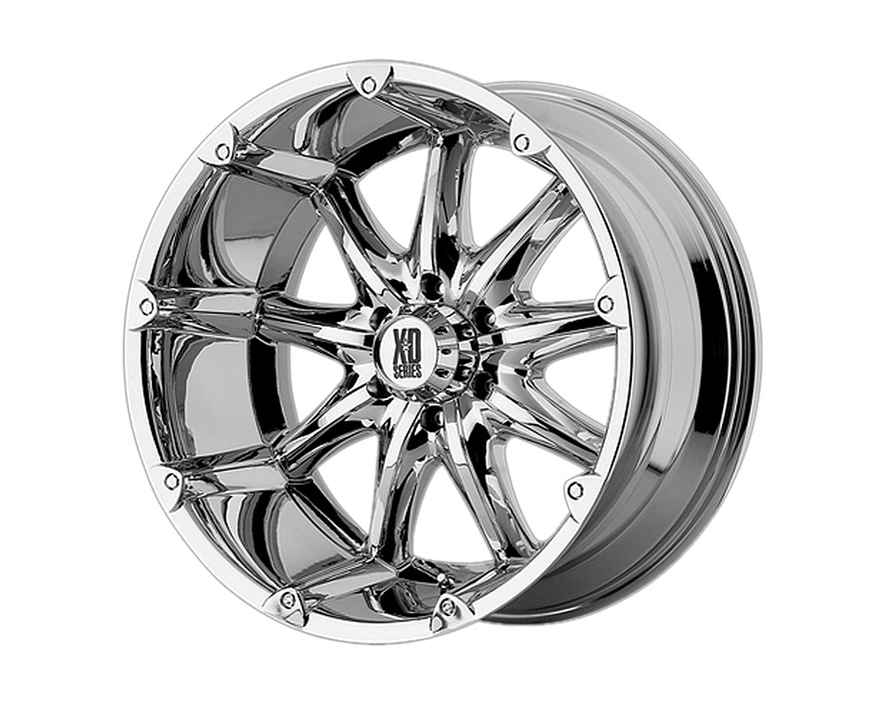 XD Series XD77989068212NA XD779 Badlands Wheel 18x9 6x6x139.7 -12mm Chrome