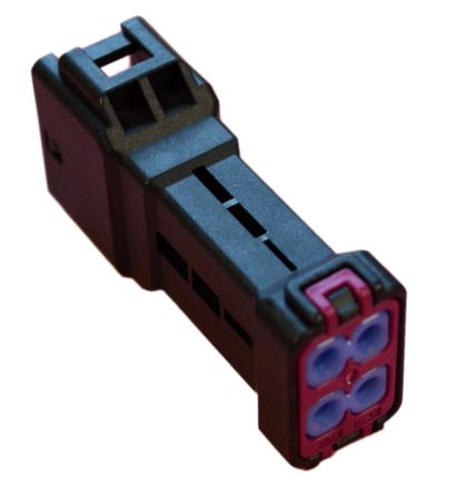 JST , JWPS Female Connector Housing, 4mm Pitch, 4 Way, 2 Row (2)