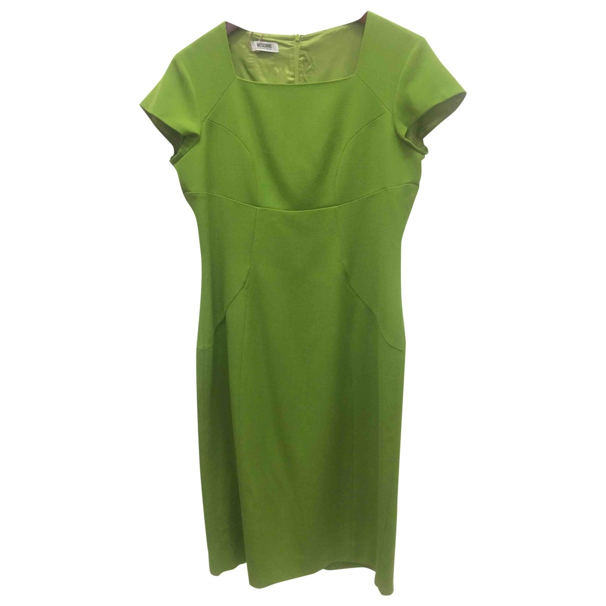 Moschino Cheap And Chic \N Green Wool dress for Women 46 IT