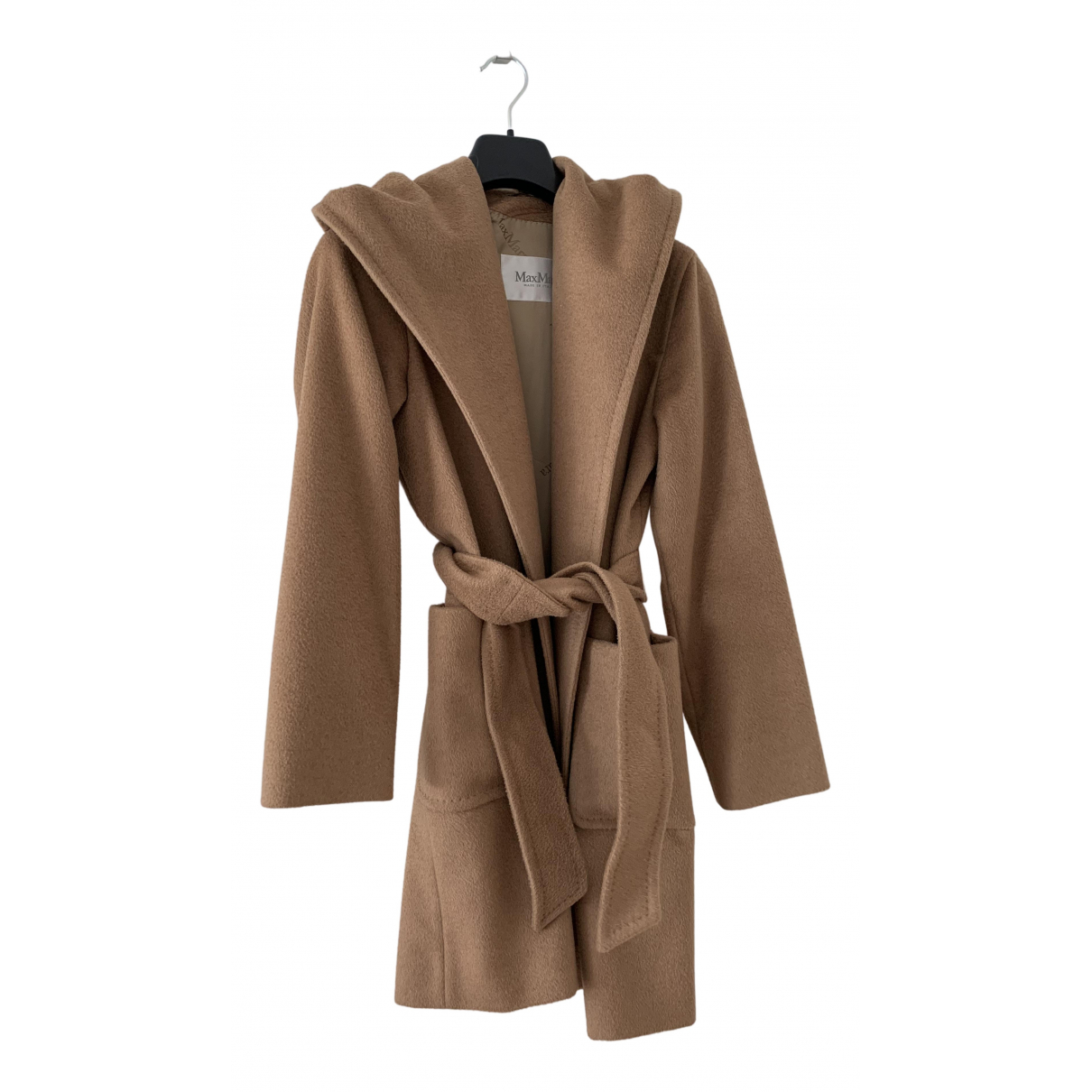 Max Mara N Beige Wool coat for Women 36 FR