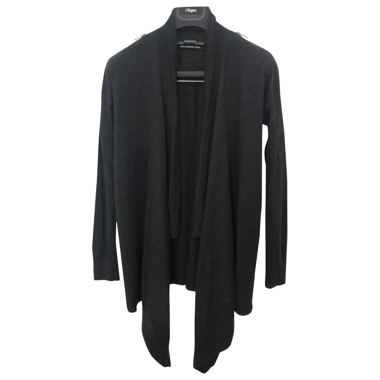 All Saints \N Grey Wool Knitwear for Women XS International