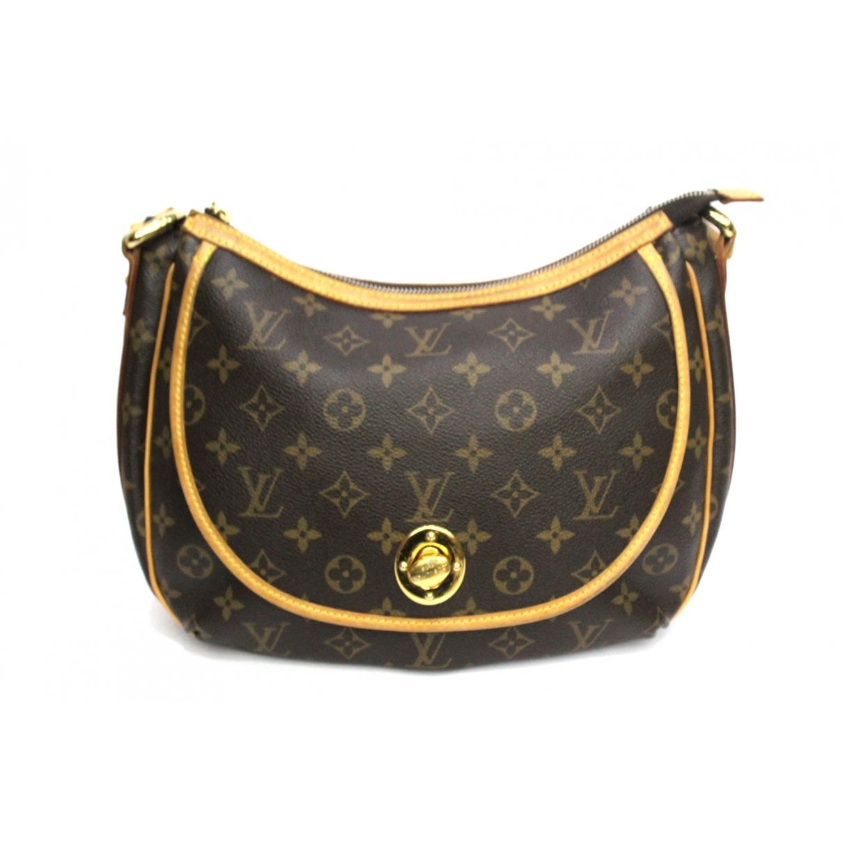 Louis Vuitton Tulum Brown Cloth handbag for Women \N