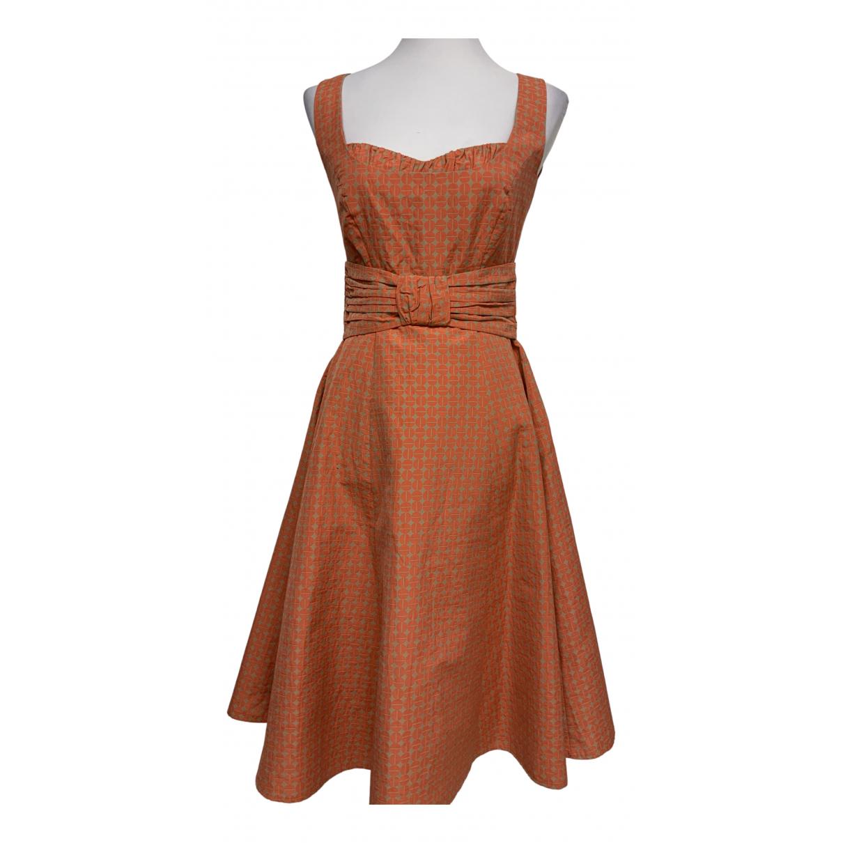Laurel \N Kleid in  Orange Baumwolle