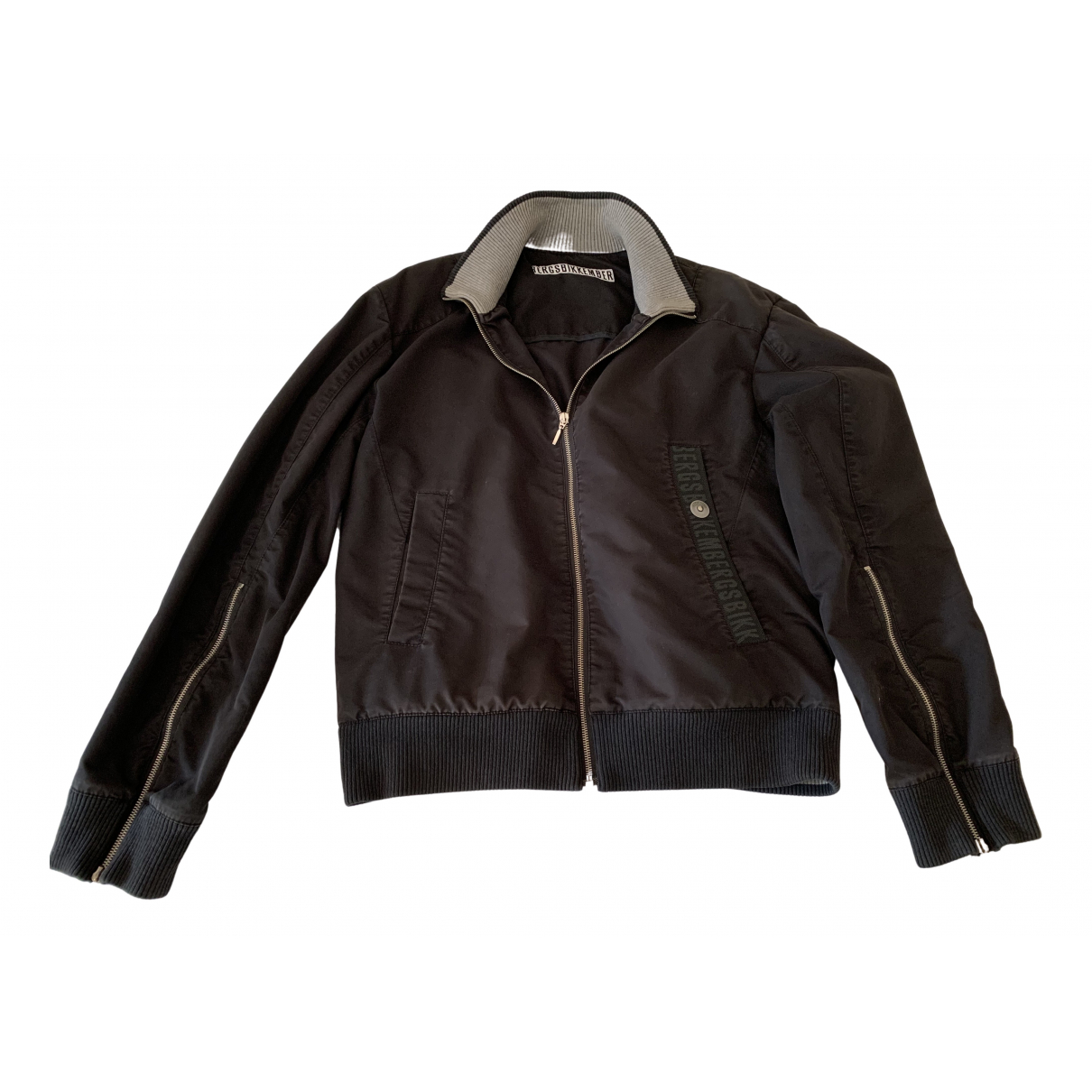 Dirk Bikkembergs - Manteau   pour homme en coton - noir