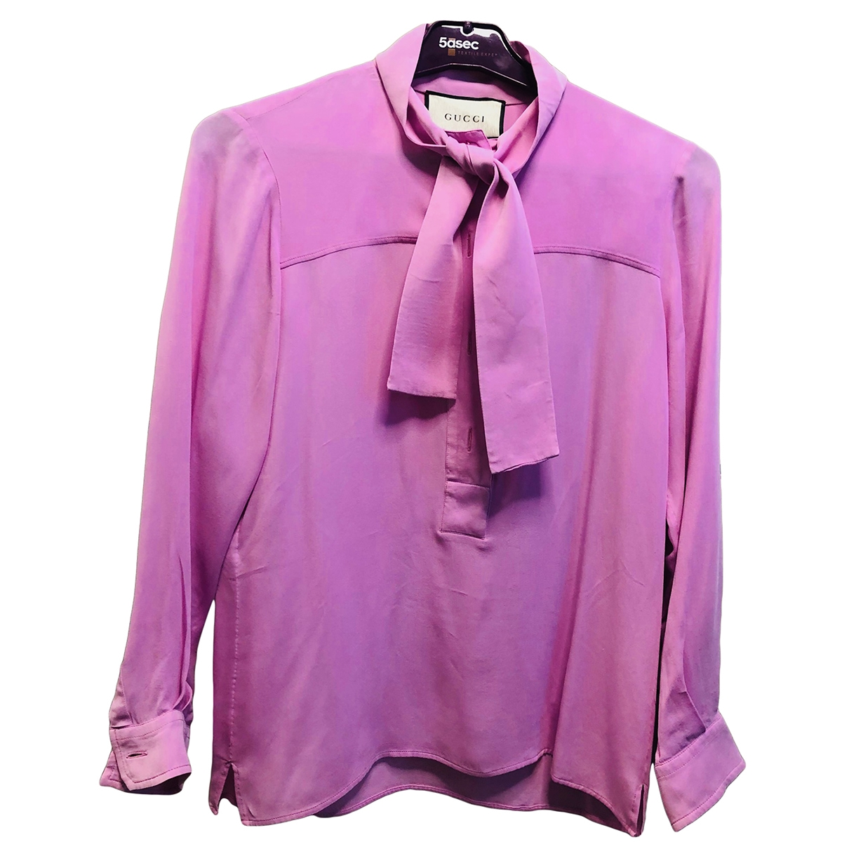 Gucci \N Pink Silk  top for Women 38 IT